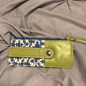 Fossil card slot wallet